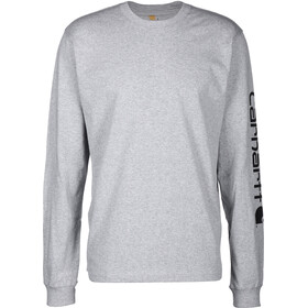Carhartt Longsleeve Pullover Men heather grey